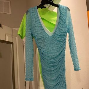 Fashionova Blue Dress